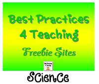 Best Practices 4 Teaching Science Freebie Sites!~Pinned by www.FernSmithsClassroomIdeas.com