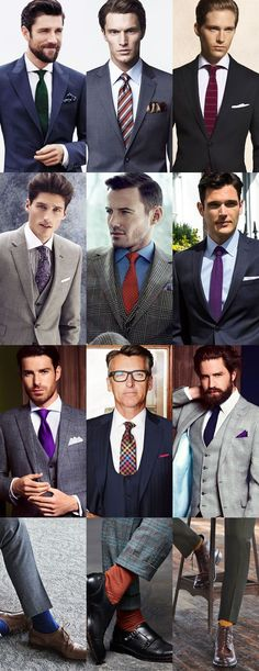 Brightening Up Your Autumn/Winter Wardrobe with Colour in Finishing Touches Sharp Dressed Man, Well Dressed Men, Business Outfits, Business Fashion, Lawyer Fashion, Professional Wardrobe, Elegant Man, Cold Weather Outfits, Suit And Tie