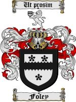 Foley Coat of Arms / Foley Family Crest