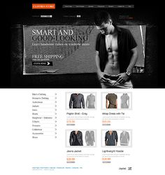 Clothes Online ZenCart Templates by Modlin