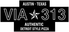 Via 313 Pizza - 3016 Guadalupe, Suite 100, Austin, TX (across the street from Wheatsville) (has three other locations - check their website).  Sun-Thur 5pm-10pm, Fri-Sat 5pm-11pm.  Authentic Detroit Style Pizza, available with Follow Your Heart Vegan Gourmet cheese (for $2 extra).