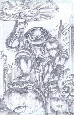 TMNT Michael Angelo by emilcabaltierra on deviantART Ninja Turtles Art, Teenage Mutant Ninja Turtles, Comic Books Art, Comic Art, Ninja Turtle Tattoos, Arte Dc Comics, Art Sketchbook, Cool Artwork, Cool Drawings