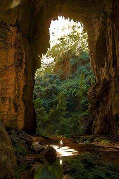 Caverns National Park Peruaçu in Minas Gerais, Brazil