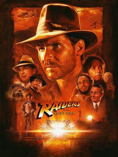 "Raiders Of The Lost Ark - This first movie of ""Raiders"" was the best one! I have the trilogy on DVD, now just have to go buy the last one with Shia La Beuf (sp?)"