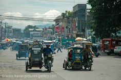 a typical street scene Philippines