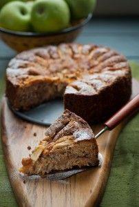 Apple Cinnamon and Walnut cake
