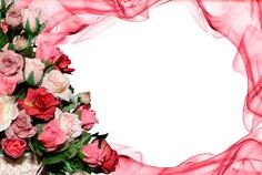 Nice flowers frame
