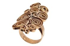 Liisa Vitali for Aatos Johannes Hauli ~Vintage, gold ring, Modern Jewelry, Jewelry Art, Jewelry Rings, Jewelry Accessories, Vintage Jewelry, Jewelry Design, Jewellery, 14k Gold Ring, Gold Rings
