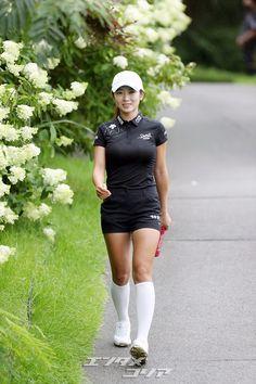 Women Golf, Ladies Golf, Lpga, Great Women, Golf Outfit, Sport Girl, Bellisima, Athlete, Korean