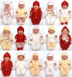Doll Clothes Pattern   Warm Winter