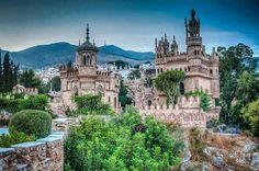 Castillo Monumento Colomares, Benalmadena, Malaga, Spain