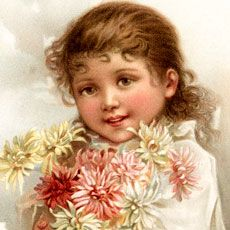 Today I'm sharing this Nostalgic Brown-Eyed Girl Holding Bouquet Graphic!  Shown above is a smiling brown-eyed girl holding a bouquet of pink and white flowers. She is wearing a long sleeve white blouse. So nice to use in your Craft or Mixed Media Projects! Have you joined our Premium Membership Site yet? For one low monthly...Read More »