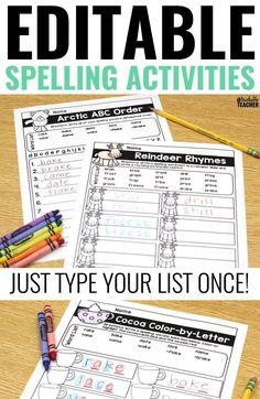 Editable spelling ac