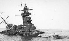 IJN Battleship sunk