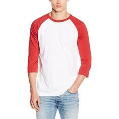 Chollo en Amazon España: Camiseta New Look Raglan por solo 8,99€ (un 30% de descuento sobre el precio de venta recomendado y precio mínimo histórico)