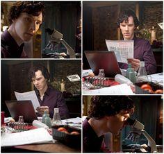 Benedict cumberbatch, episode 0 of Sherlock
