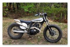 Yamaha TW 125 Scrambler There is not much build info on this Yamaha TW 125 Scrambler, The builder has converted Yamaha TW 125 into a beautiful Yamaha scrambler,