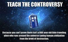 Teach the controversy.