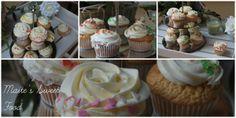 Collage of white chocolate cupcakes!! Maite's Sweet Food http://maitesweetfood.blogspot.com.es/ #whitechocolate #cupcakes #delicious http://maitesweetfood.blogspot.com.es/2013/09/cupcakes-de-chocolate-blanco_26.html