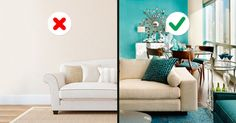 The ten most common mistakes we make when choosing colors for inside our homes
