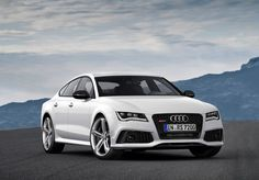 2013 Audi RS 7 Sportback:  4.0  Liter V8 Twin Turbo with 560 Horsepower. 0 to 60 mph in 3.9 seconds. Top Speed of 189 mph.