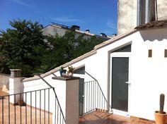 #Edificios #Contemporaneo #Recibidor #Terraza #Exterior #Barandillas #Arboles #Puertas #Tejado