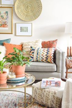 tips for styling boho pillows