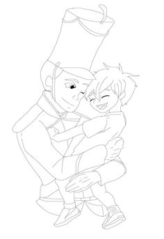 The Steadfast Tin Soldier And Son LINEART by VelociPRATTor