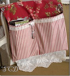 Cute bed pocket