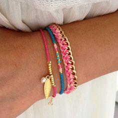 Mint15 Bracelet Set 'Ibiza Lace' - www.mint15.nl