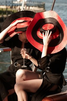 Hatmaker for Sportscraft Spring Summer launch 2010. #passion4hats