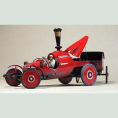 Manchu's Steam Car