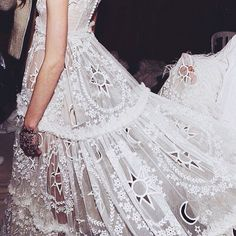 HOPES, FEARS, DREAMS | TheyAllHateUs White lace, dress