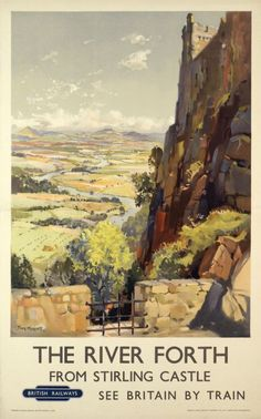 The River Forth from Stirling Castle by Merrott Jack / 1955..17