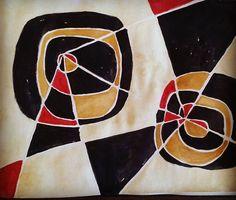 No description.  Watercolors on paper