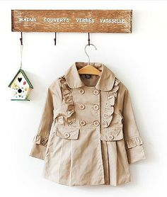 Aliexpress.com : Buy 2013 New arrival Spring and Autumn super beautiful children clothing kids trench brand girls double breasted trench coat from Reliable children trench suppliers on Fashion Kids Paradise $25.45