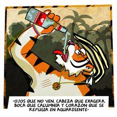 OJOS QUE NO VEN   #Tigre #Aguardiente #Corazon #Despecho
