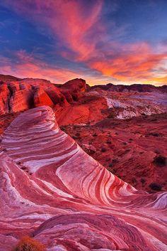 Valley of Fire Wave, Nevada. Topografía BGO Navarro - Estudio de Ingeniería. Begoña Navarro Marrero - Topógrafo - Land Surveyor