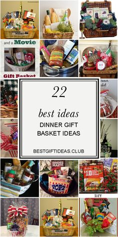 Get information about 22 Best Ideas Dinner Gift Basket Ideas. Get this Finest and Save this article now! Dyi Gift Baskets, Gift Baskets For Women, Themed Gift Baskets, Raffle Baskets, Christmas Gift Baskets, Movie Basket Gift, Movie Gift, Best Housewarming Gifts, Auction Baskets