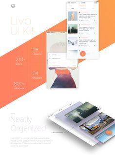 Livo UI Kit on Behance