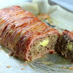 Keto Meatloaf, Keto Bacon Meatloaf, Keto Cheese stuffed meatloaf