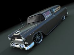 Chevy Nomad  had one just like this