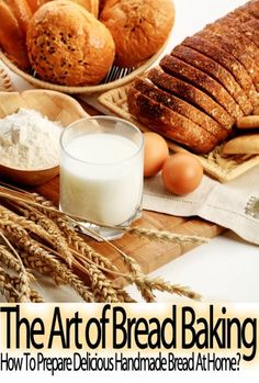 The Art of Bread Baking: How to Prepare Delicious Handmade Bread At Home? (Step By Step Guide with Colorful Pictures) - [gallery] You are about to discover some of the simpliest bread recipes for baking bread at home. This cookbook contains a nice collection of easy recipes to bake bread by hand with easy to follow directions and colorful pictures. It is highly recommended for both experienced and beginner bakers.Are you ready to bake delicious, crisp,