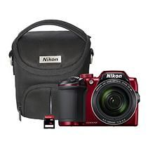 "Nikon B500 16MP, 40x Optical Long Zoom Digital Camera with Wi-Fi NFC, Bluetooth Image Sharing, 3"" Tilt LCD Screen,"