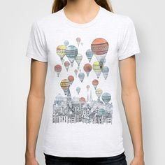 Voyages over Edinburgh T-shirt