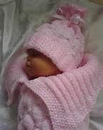 Baby Cocoon Knitting Pattern - Bing Images