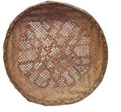 Vintage Basket Dish - Wall Decor or Tabletop
