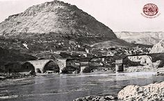 Palu - Local history. Palu and the bridge built over the Murad river (E. Percy, Highlands of Asiatic Turkey, London, 1901). http://www.houshamadyan.org
