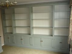 Bespoke Office Furniture With Huge Bookcase - Bespoke Furniture Delivered Recently - Pine Shop Bury