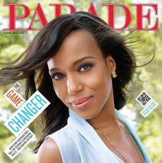 Kerry Washington Covers Parade Magazine May 2013